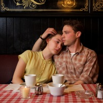 "Saorise Ronan as ""Eilis"" and Emory Cohen as ""Tony"" in ""Brooklyn."" (Kerry Brown/Twentieth Century Fox)"